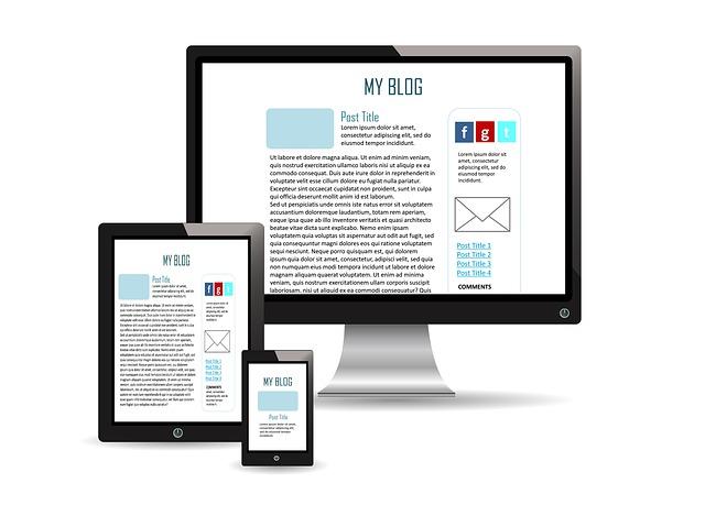 blog na zařízeních