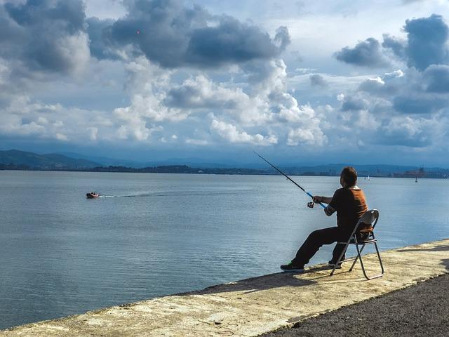 rybaření v horách