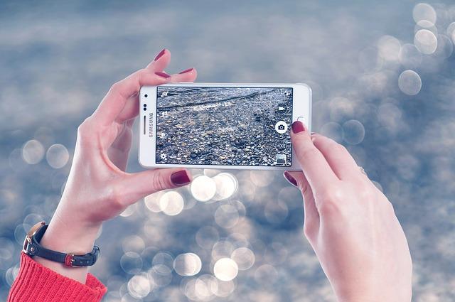mobil, fotografie